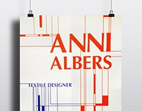Anni Albers Poster