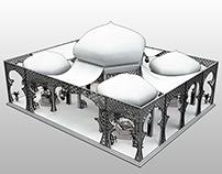 Sahara Kingdome Exhibition Booth Design