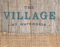 The Village At Waterside Branding