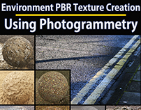 Photogrammetry Guide for Environment Texture Creation