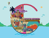 Illustration - Goa Tourism