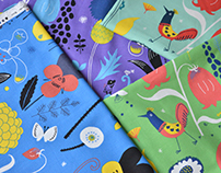 "textile design with KOKKA 2013 ""etocoto"""