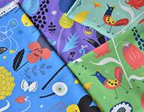 """textile design with KOKKA 2013 """"etocoto"""""""