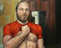 Juego de Bolas. Oil on canvas. 100x81cm