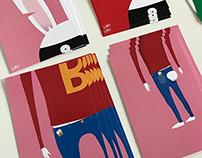 BBBC - Broken Bandit Bunny Cards