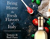 Wine & Pasta Pairing In Store Signage