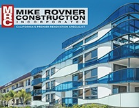 Mike Rovner Construction Rebrand