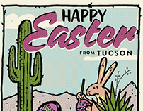 Happy Easter from Tucson