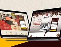 Landing Pages || Casa Brasileira e Hamorim