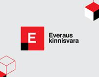 Everaus real estate visual identity