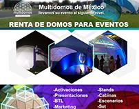 Renta de domos para eventos | Multidomos de México