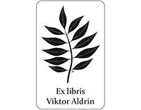 Ex libris: Viktor Aldrin (2017)