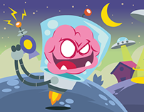 Brainy - Animated Stickers Set