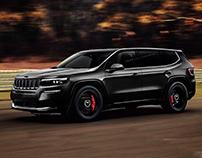 Jeep Grand Wagoneer Trackhawk Concept