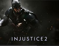 Injustice 2 UI/UX