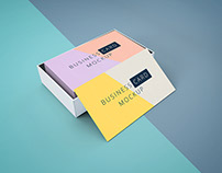 Freebie - Business Cards Mockup