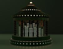 Emerald City Carousel   Small Worlds