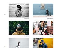 Light - Minimal Photography Template