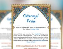 Islamic Event flyer