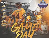 Salisbury Lacrosse Postseason Graphics