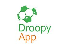 Droopy App. Diseño de identidad y aplicación mobile.