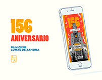 Campaña 156 Aniversario - Municipio de Lomas de Zamora
