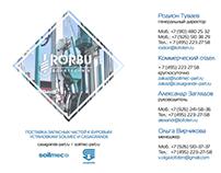 RORBU Bohrtechnik: presentation design