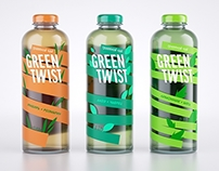 Herbal tea GREEN TWIST packing
