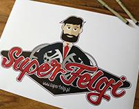 Super Felgi - logotype