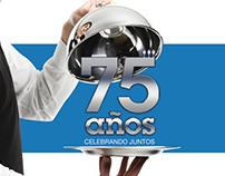 Seguros Monterrey NYL - 75 años
