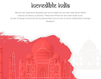 Incredible India Icon Set