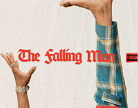 DUCKWRTH The Falling Man Alternate Cover Art
