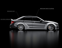 Mercedes-Benz C63 Widebody Kit