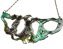 Abstract Enameled Jewelry