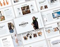 Nimato - Creative Fashion Presentation Template