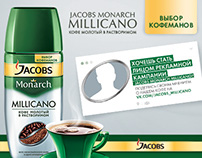 Jacobs Monarch Millicano 2014-2015 campaign