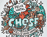 Illustration and Art Direction: Chesf Christmas Cards