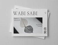 Wabi - Sabi Landscape Editorial Magazine
