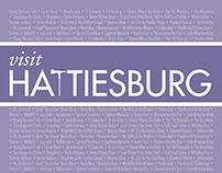 Visit Hattiesburg – Student Work