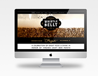 Whistle Belly Website