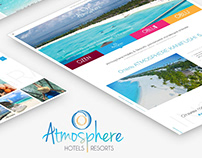 Responsive landing page - Atmosphere Hotels & Resorts