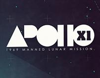 Apollo XI | 45th Anniversary Poster
