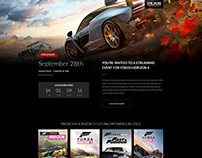 Forza Horizon 4 Launch Concept