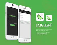 LIMELIGHT APP IOS UX/UI Design