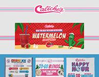 Caliche's Branding & Social Media Posts