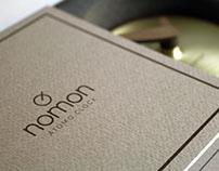 Atomo clock - packaging - NOMON