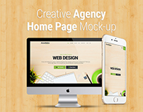 Web Design Agency Home Page