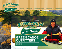 Green Canoe Outfitters Website