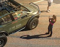 Tesla 4X4 Dakar Mood
