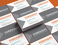 Foresight Messaging Logo & Business Cards